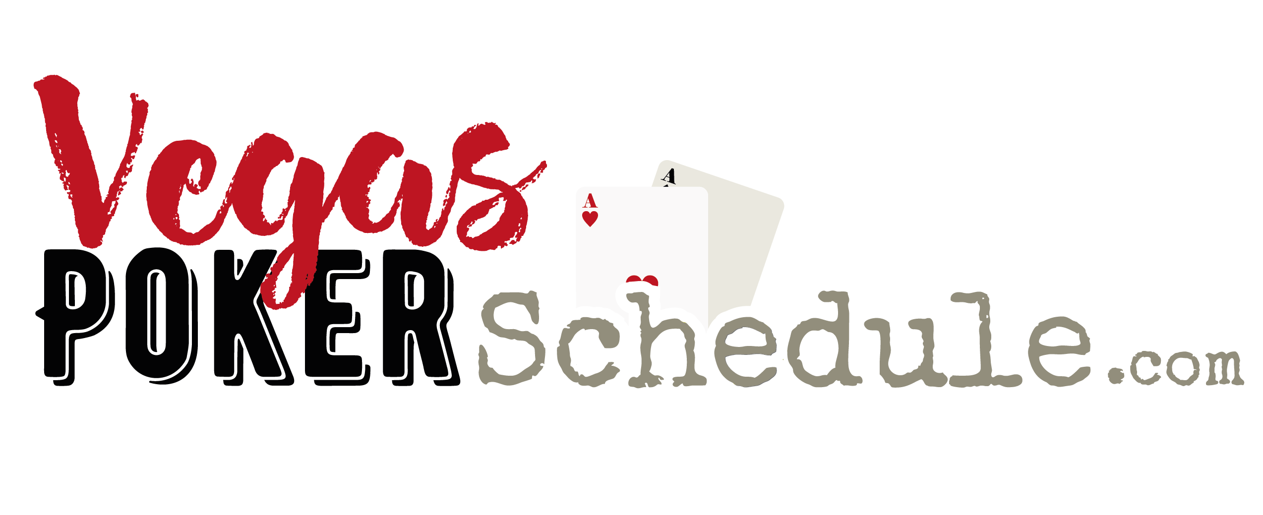 Vegas Poker Schedule